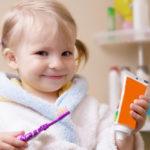 brossage dent enfant